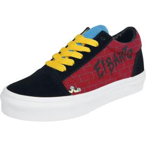 Vans The Simpsons - El Barto Old Skool dětské boty cervená/cerná   VANSboty.cz