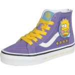 Vans The Simpsons - Lisa 4 Prez SK8-Hi Zip dětské boty šerík   VANSboty.cz