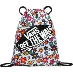 Vans Batohy WM Benched Bag Stacked Floral Bílá | VANSboty.cz