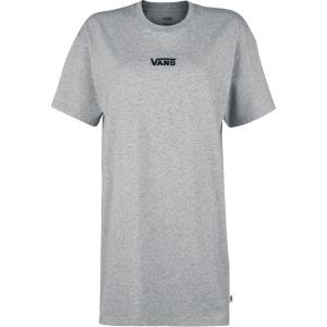 Vans Tričkové šaty Center Vee šaty šedá | VANSboty.cz