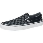 Vans Classic Slip-On Checkerboard tenisky cerná/šedá | VANSboty.cz